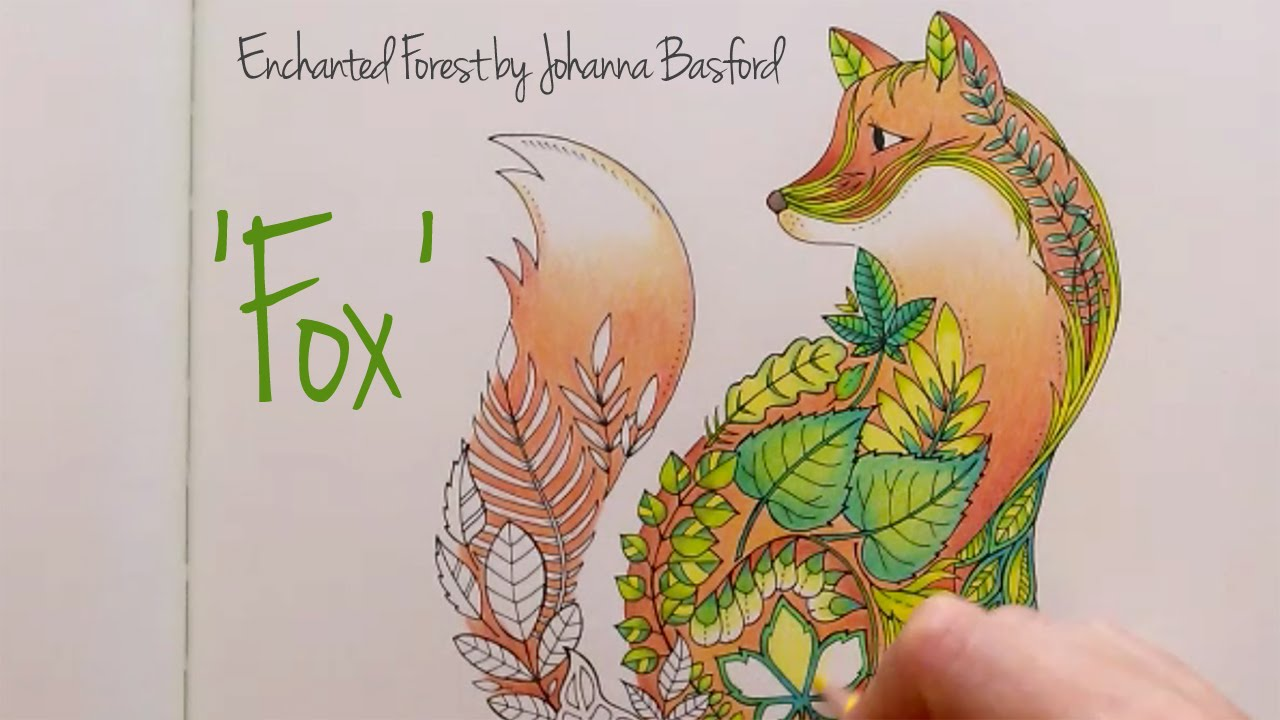 Colouring Book Enchanted Forest Walk through with tips and ... | 720x1280