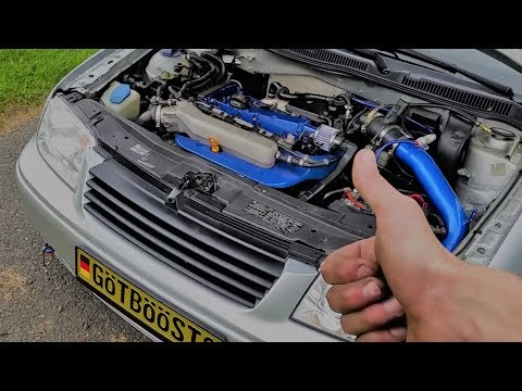 K&N Cold Air Intake Install! Mk4 1.8t Jetta Stage 2