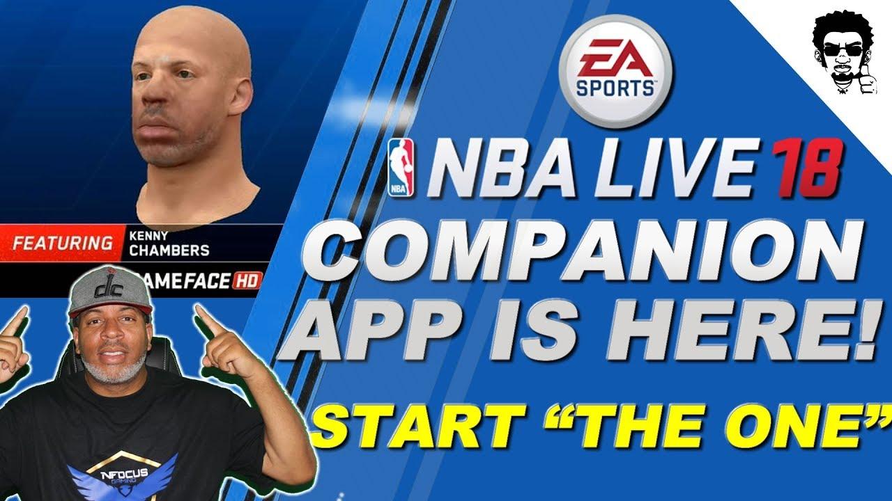 ba9c3d00c1b4 NBA LIVE 18 COMPANION APP IS HERE!!