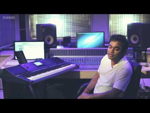 MZ-X Studio by A.R. Rahman   Casio Promo