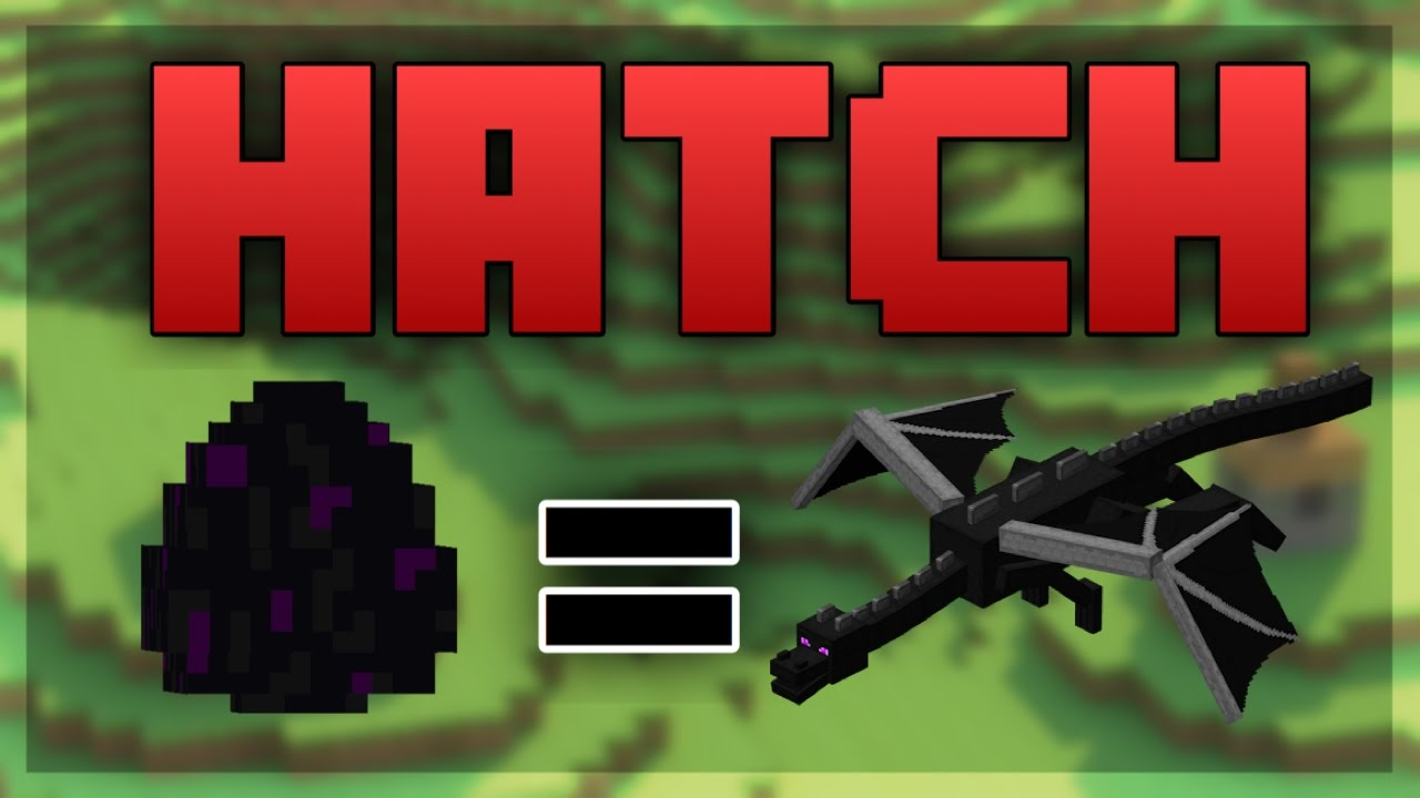 minecraft ps4 how to hatch the ender dragon egg youtube