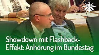 Showdown mit Flashback-Effekt: Anhörung im Bundestag   DHV-News #171