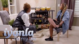 Iyanla Pushes Le'Andria Johnson to Face the Truth About Her Alcoholism | Iyanla: Fix My Life | OWN