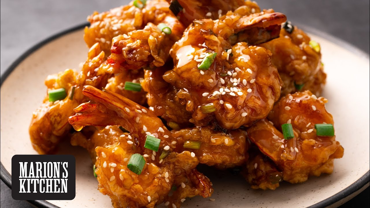 Chinese Honey Prawns - Marion's Kitchen