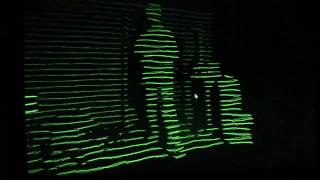 Repeat youtube video Kinect interactive music visuals: boom boom = shake the room