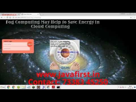 IEEE 2016: Fog Computing May Help to Save Energy in Cloud Computing