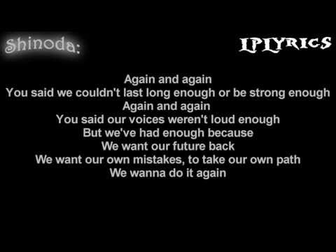 Linkin Park - Debris (Minutes To Midnight Demo) [Lyrics on screen] HD