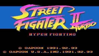 Street Fighter II Turbo Snes Music - Balrog Stage