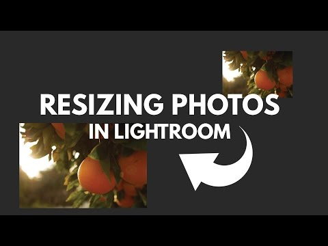 How to Quickly Resize Photos in Lightroom