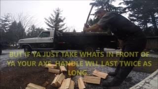 STAYING AHEAD OF YOUR FIREWOOD