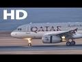 [HD] Plane Spotting in Hamad Aiport - Qatar Airways Airbus A319LR, GulfAir/AirArabia A320 - OTHH