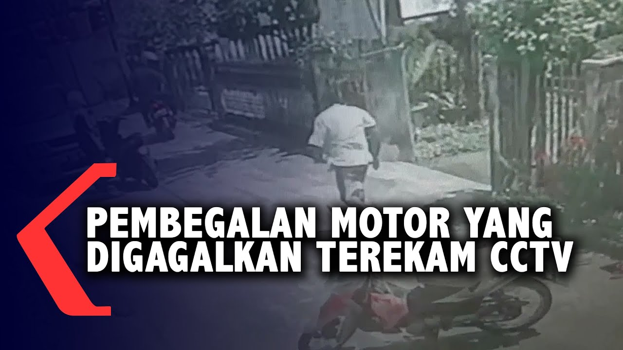 Pembegalan Motor Yang Digagalkan Terekam CCTV