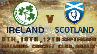 Ireland v Scotland - 3rd ODI