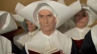 Хор монастыря из фильма Жандарм и инопланетяне 1979. Люи де Фюнес.