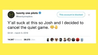 4 Minutes of total disappointment - Twenty One Pilots