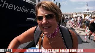 Le 18:18 - Marseille prise d'assaut par les touristes français, notre reportage grand format