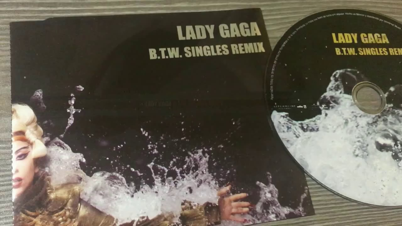 Lady Gaga B.T.W. Singles Remix + Christmas Tree Promo CD