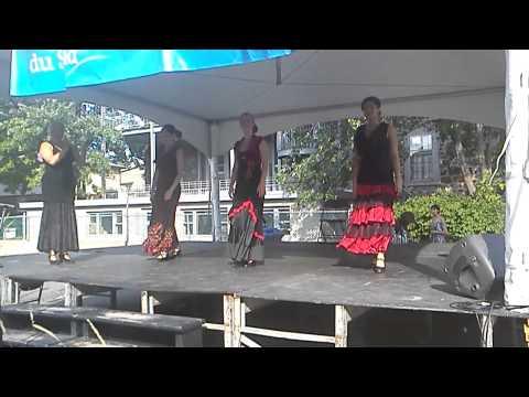 Flamenco performance in 13e festival international percussion (Final part)