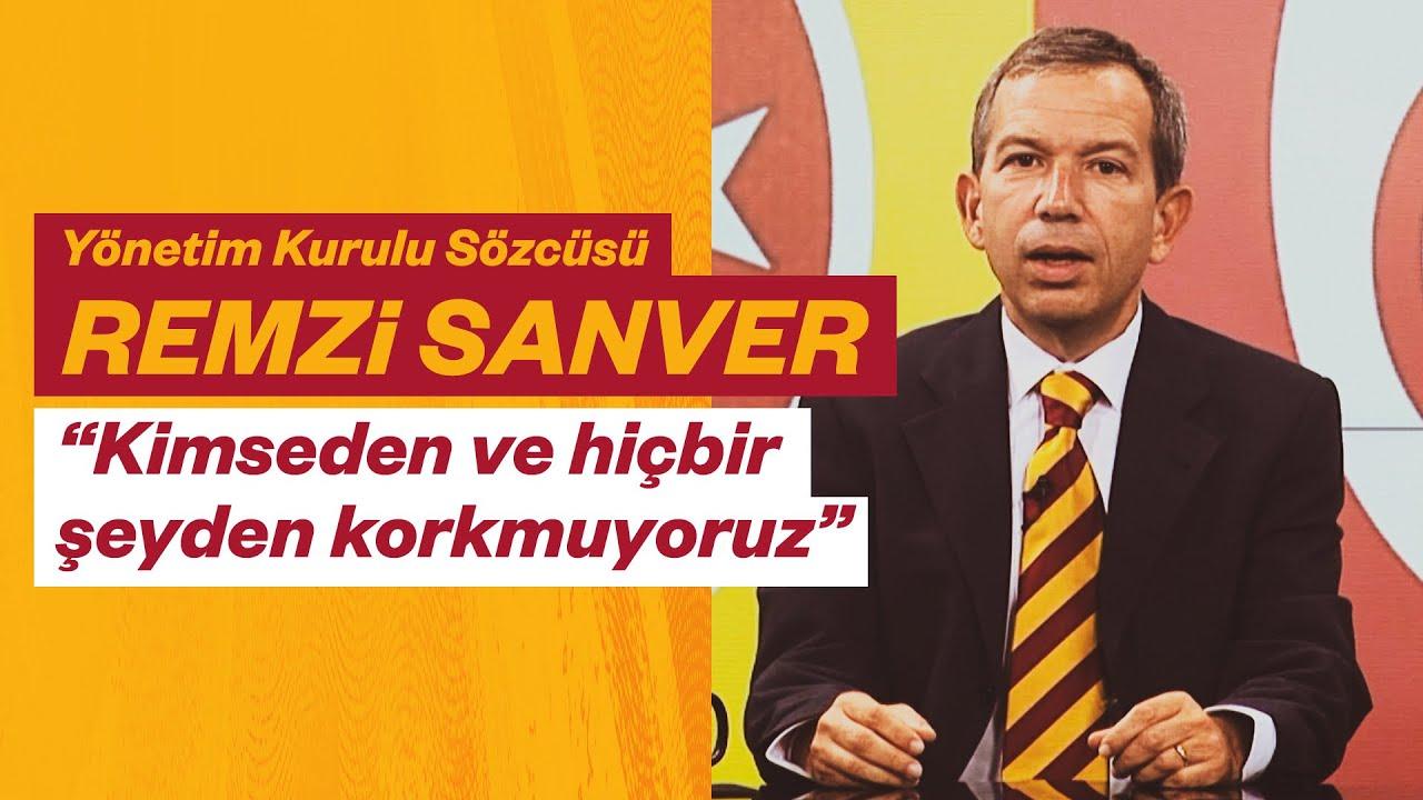📺 Galatasaray Spor Kulübü YK Sözcüsü Remzi Sanver'den YK toplantısı sonrasında açıklamalar