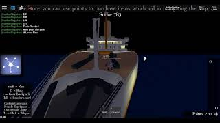 Il mio primo video su ROBLOX -Roblox Titanic
