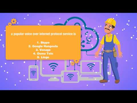A Popular Voice Over Internet Protocol Service Is