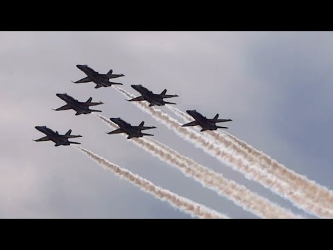 US Navy Blue Angels Over Fort McHenry