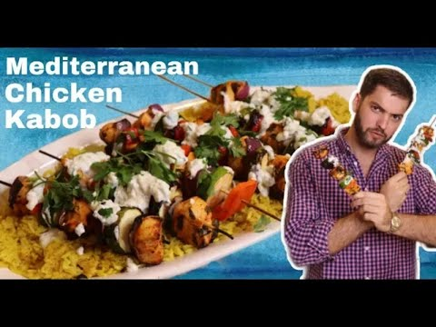 How To Make Chicken Kabobs: Mediterranean Kabobs