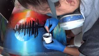 SPRAY PAINT SHIP Ice and fire