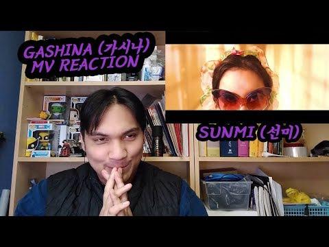 SUNMI(선미) - Gashina(가시나) MV REACTION [THIS GIRL'S GETTING LOOSE AF]