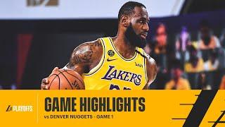 HIGHLIGHTS | LeBron James (15 pts, 6 reb, 12 ast) vs Denver Nuggets
