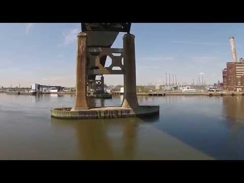 jersey city drone pulaski skyway
