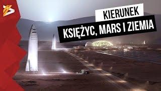 SpaceX zabierze nas na Marsa, Księżyc i w dowolne miejsce na Ziemi