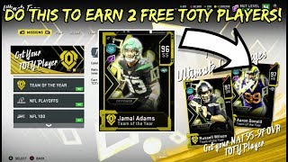 HOW TO EARN TWO FREE TEAM OF THE YEAR GOD TIER PLAYERS
