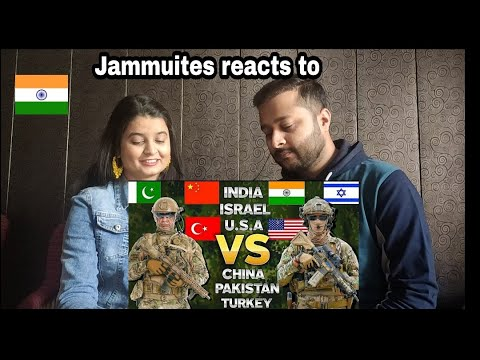 India USA Israel VS China Pakistan Turkey| Military Comparison| Reaction| Our crazy reactions