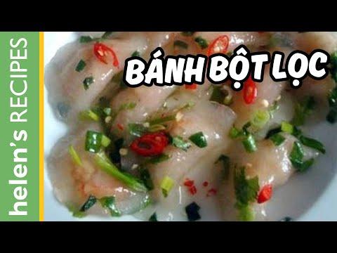 Bánh bột lọc - Vietnamese clear shrimp & pork dumpling
