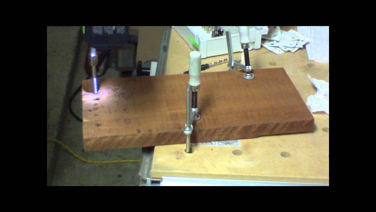 how to make a pilot hole without a drill