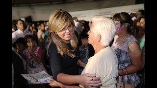 Entrega Gobernadora apoyos en colonia San Bosco en HMO