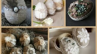 Best Decorated Easter Eggs Ideas - Rustic Easter Egg Decorating Ideas - Spring Decorating Ideas
