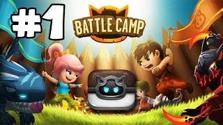 BATTLE CAMP - Gameplay Walkthrough Part 1 (iOS, Android)