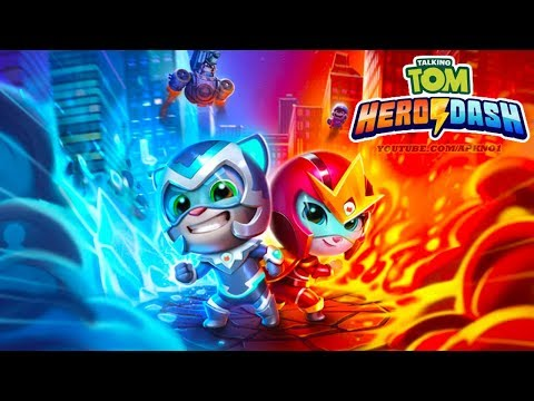 Talking Tom Hero Dash New Update Ice Bolt Tom