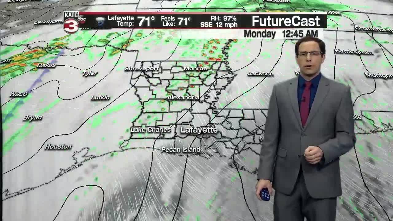 Eric's Sunday 10pm Weather Forecast