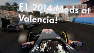 F1 2014 Extra Tracks MOD - Valencia (Realistic Damage MOD)