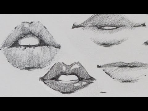 how-to-draw-lips---traditional-or-manga