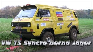VW T3 Syncro Bernd Jäger [HD](For all fans, compilation of Bernd Jäger @ Mini Dakar Hardenberg 2012[Pure Sound, Highlights], 2013-02-11T19:09:43.000Z)