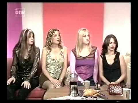 The Bangles interview on UK TV September 2001 Lorraine Kelly