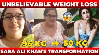 Sara Ali Khan's WEIGHT LOSS Journey – Motivational Video