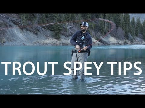 Trout Spey Fishing | 4 Tips For Skagit Casting Preparation | Lots Of Fish!