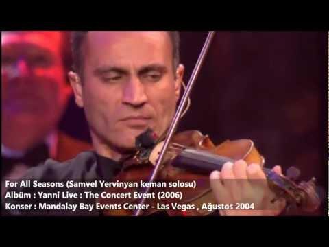 Yanni | For All Seasons (Samvel Yervinyan solosu)