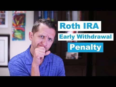 "<span class=""title"">Roth IRA Early Withdrawal Penalities</span>"