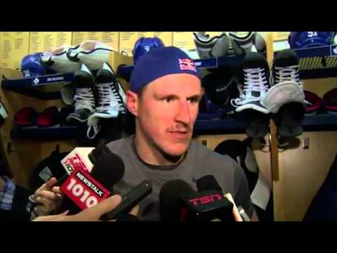Why are post-game hockey interviews so boring?